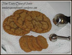 Gingerdoodles - two sizes.