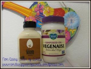 Mayo Choices: Vegenaise Just Mayo