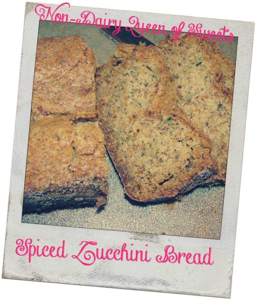 Heirloom:  Spiced ZucchiniBread