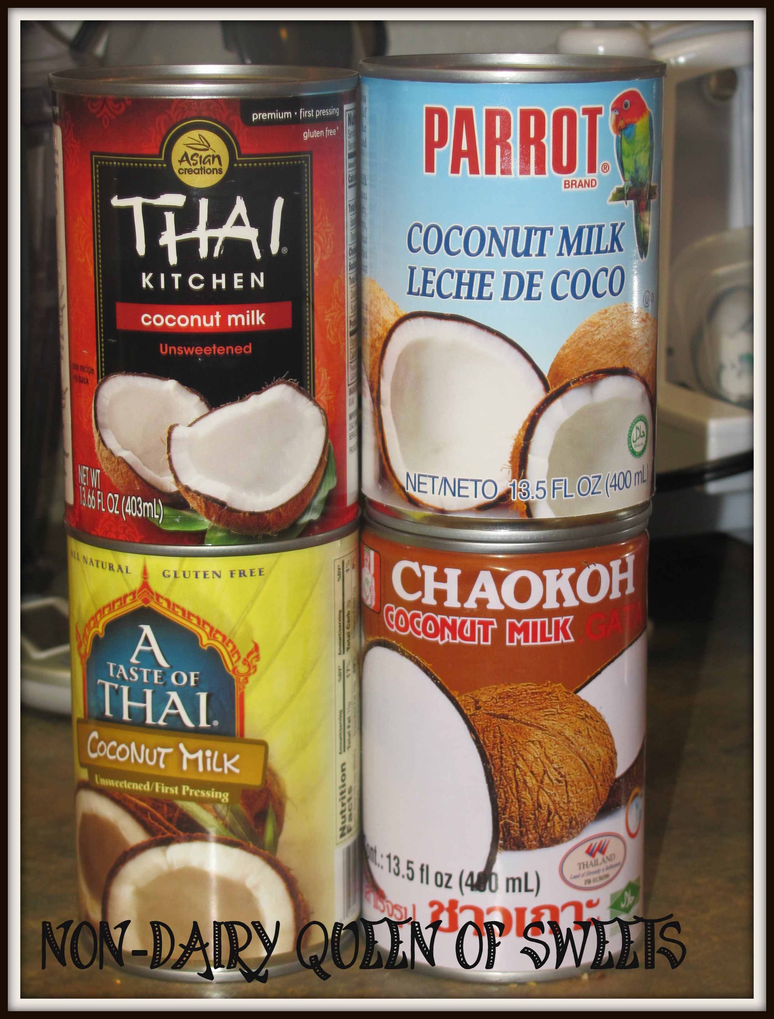 A Taste Of Thai Coconut Milk almond milk – nondairyqueenofsweets