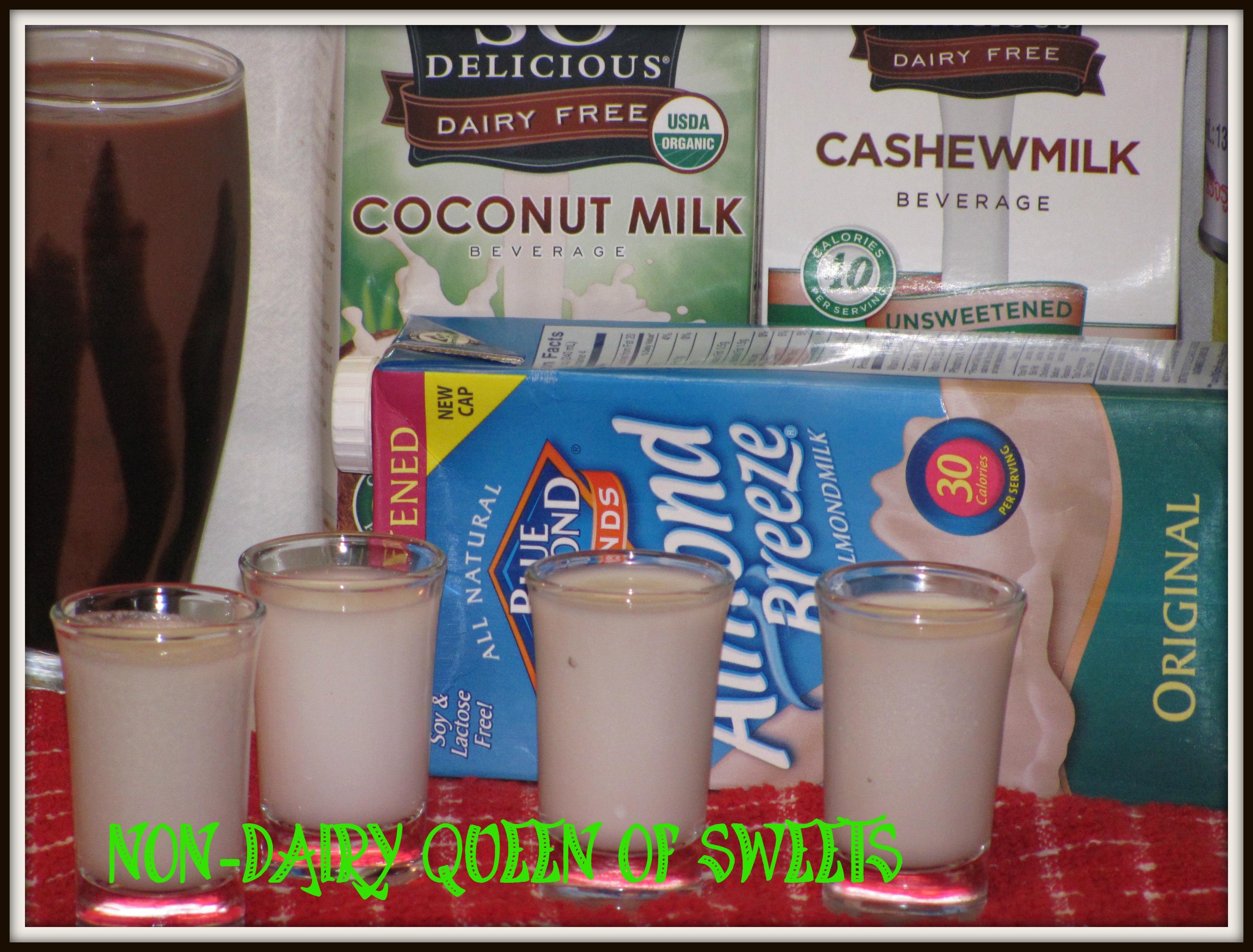 almond milk – nondairyqueenofsweets