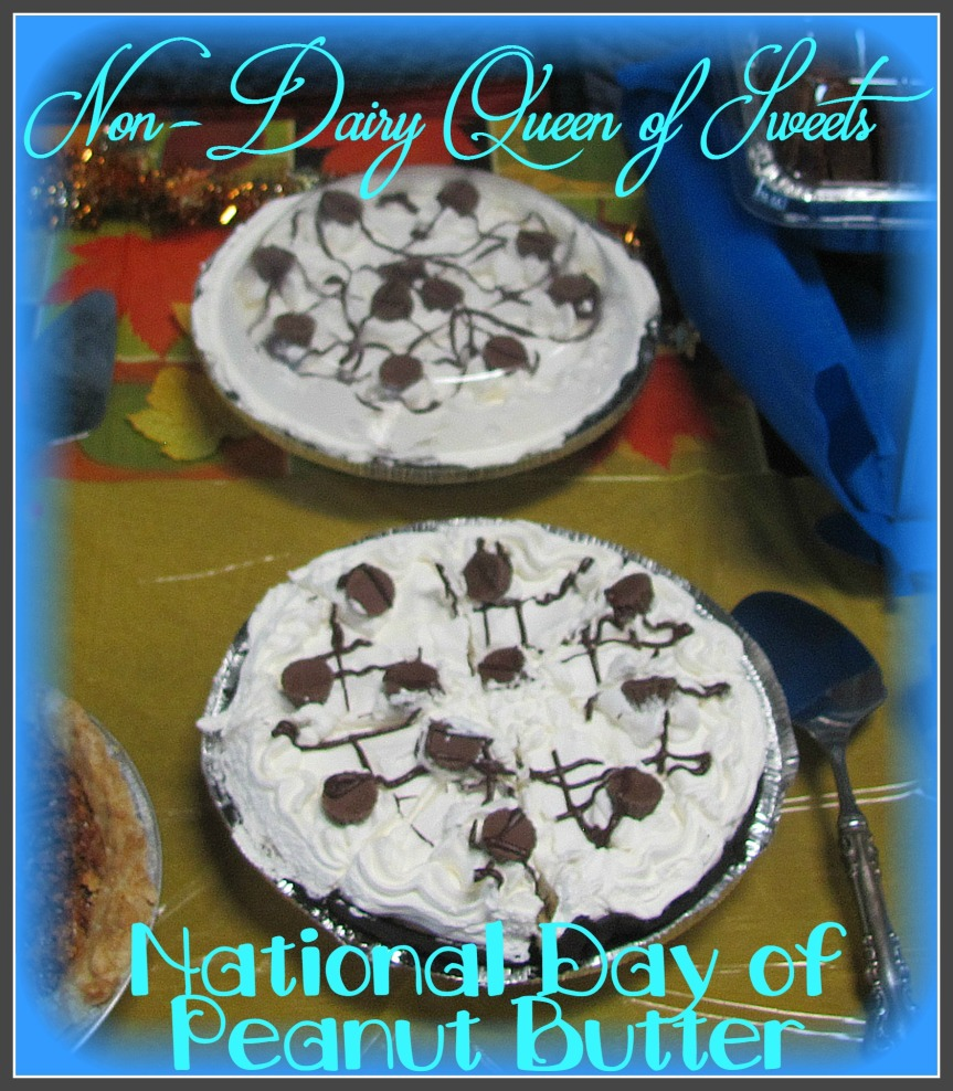 National Day of Peanut Butter (Jan. 27) [Peanut Butter Pie]