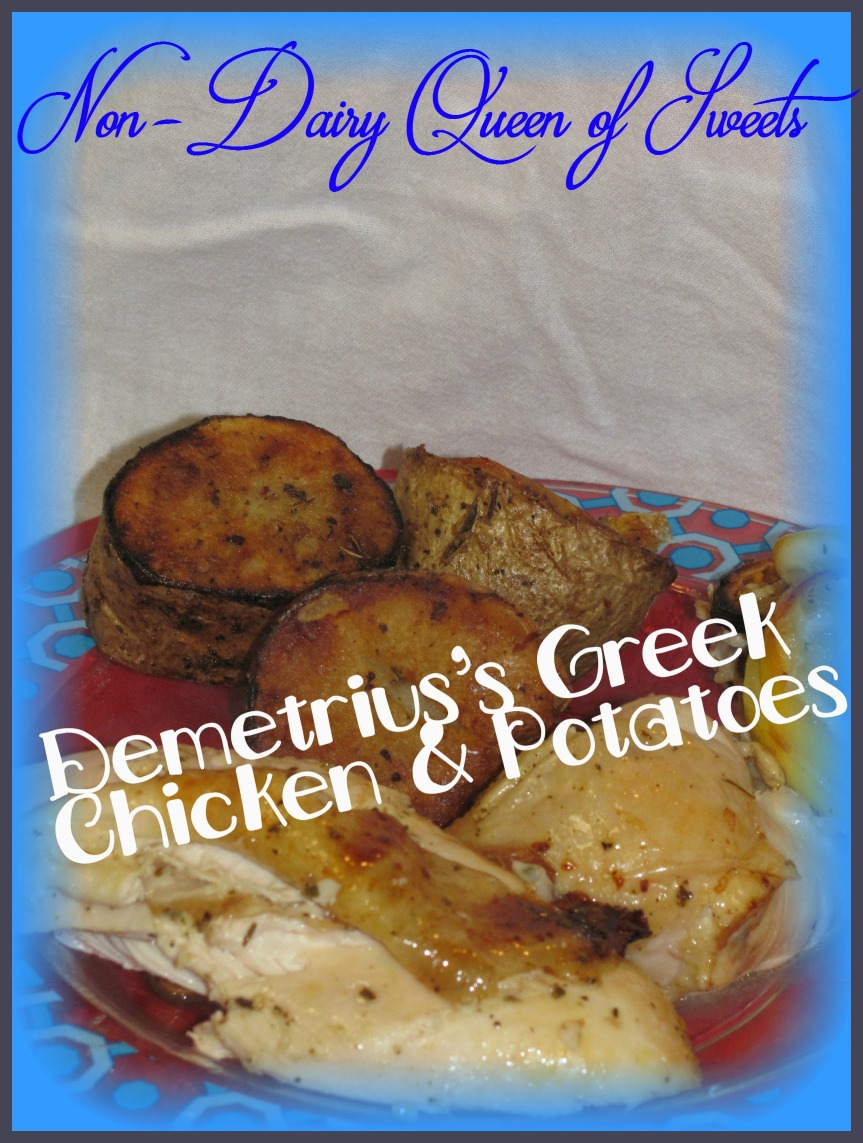Demetrius's Greek Chicken & Potatoes